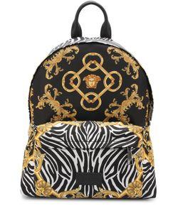 Versace | Текстильный Рюкзак С Принтом