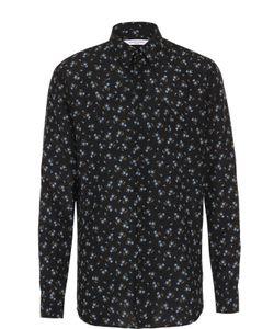 Givenchy | Шелковая Рубашка С Цветочным Узором
