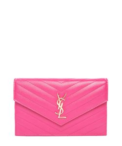 Saint Laurent | Сумка Monogram Envelope Mini Из Стеганой Кожи