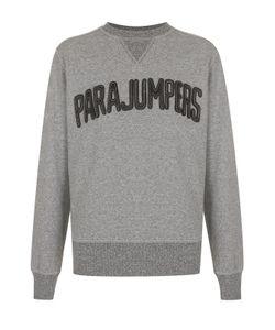 Parajumpers | Хлопковый Свитшот С Контрастной Отделкой