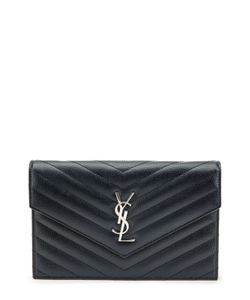 Saint Laurent | Сумка Monogram Envelope Mini Из Стеганой Кожи