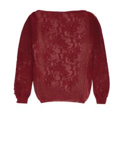 Oscar de la Renta | Полу Облегающий Пуловер С Вырезом-Лодочка