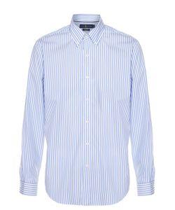 Polo Ralph Lauren   Хлопковая Рубашка С Воротником Button Down