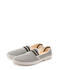 Rivieras Leisure Shoes | Текстильные Эспадрильи На Резиновой Подошве