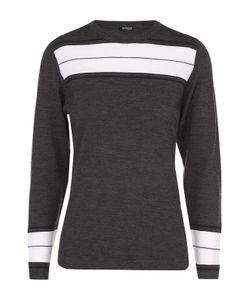 Kiton | Шерстяной Пуловер С Круглым Вырезом И Контрастной Отделкой