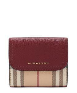 Burberry | Портмоне Из Кожи В Клетку House Check