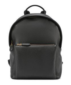 Ralph Lauren | Кожаный Рюкзак С Внешним Карманом На Молнии