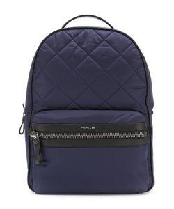 Moncler | Текстильный Рюкзак С Отделкой Из Натуральной Кожи