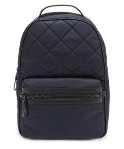 Moncler | Стеганый Рюкзак George С Отделкой Из Натуральной Кожи