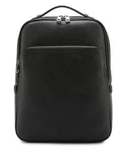 Bally | Кожаный Рюкзак С Внешним Карманом На Молнии