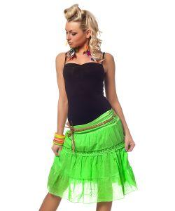 Catch Fashion   Зеленая Короткая Юбочка 205