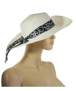 Без бренда | Шляпа С Лентой Сливочного Цвета