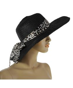 Без бренда | Шляпа Черного Цвета С Лентой