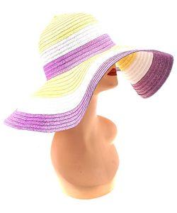 Без бренда | Шляпа 678497 Трехцветная