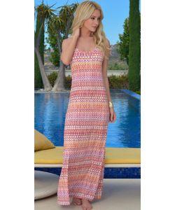 Lady Lux   Пляжное Платье Макси Ll179d