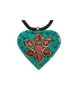 Indira | Подвеска Tibetan Heart