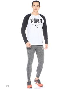 Puma | Лонгслив Style Tec Baseball Tee