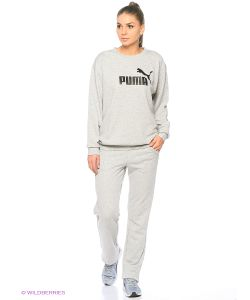 Puma | Толстовка Ess No.1 Crew Sweat Tr W