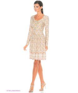 ANASTASIA PETROVA | Короткое Платье Бежевая Бабочка