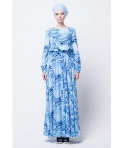 Bella Kareema | Платье Летнее Из Штапеля С Пышной Юбкой