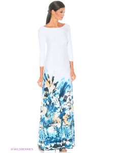 ANASTASIA PETROVA | Длинное Платье Морская Пена