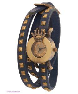 Kawaii Factory | Часы На Двойном Ремешке Crown Синие