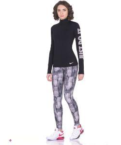 Nike | Леггинсы W Nk Pwr Lgnd Tght Brush Print
