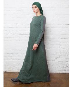 Bella Kareema   Платье Из Костюмной Ткани Двухцветное