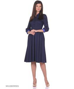MeiLLer | Платье С Классическим Воротником
