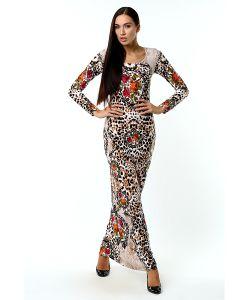 ANASTASIA PETROVA | Длинное Платье Цветочные Пяльца