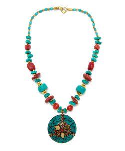 Indira   Тибетское Колье Mz0153