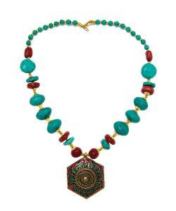 Indira | Тибетское Колье Mz0155