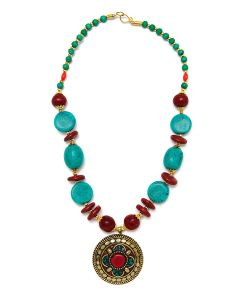 Indira   Тибетское Колье Mz0157
