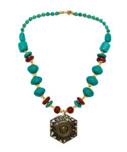 Indira   Колье Tibetan Mosaic
