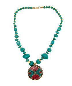 Indira | Колье Tibetan Mosaic