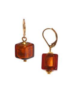 Bottega Murano | Серьги Perla Piccolo Cubo