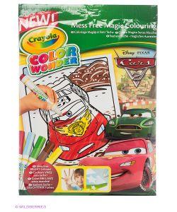 Crayola | Набор Раскраска И Фломастеры Тачки Color Wonder