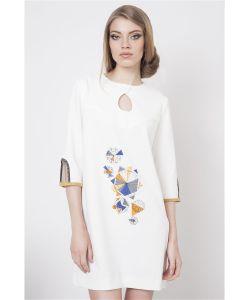 RIJJINI | Платье-Туника С Оригинальным Принтом