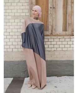 Bella Kareema | Платье Трикотажное С Контрастными Вставками