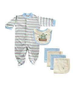 Hudson Baby | Комплект Комбинезон И Салфетки