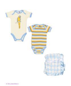 Hudson Baby | Комплект Боди И Плюшевый Плед