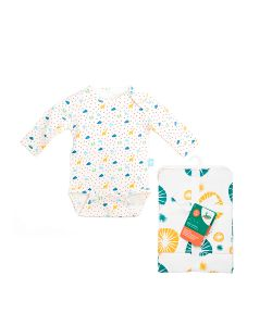 babydays | Комплект Боди С Длинным Рукавом 1 Шт. Салфетки Для Кормления 2