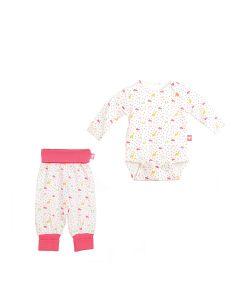 babydays | Комплект Штанишки С Широким Поясом 1 Шт. Боди С Д/Р