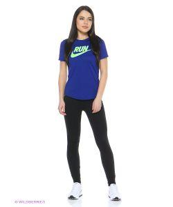Nike   Футболка Run P W Run Swoosh Brnd Rd Tee