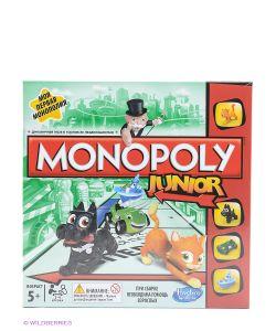 Hasbro | Настольная Игра Моя Первая Монополия Monopoly