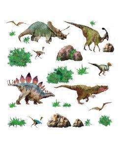 ROOMMATES | Наклейки Для Декора Динозавры
