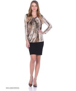 RIJJINI | Блузка Из Мягкого Трикотажа Со Складкой Спереди