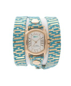 La Mer Collections | Часы Simple Chateau Teal Egyptian