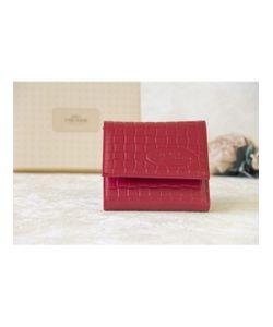 Paolo Veronese | Портмоне Компактное Красное Square