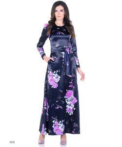 MeiLLer | Вечернее Платье С Цветочным Принтом